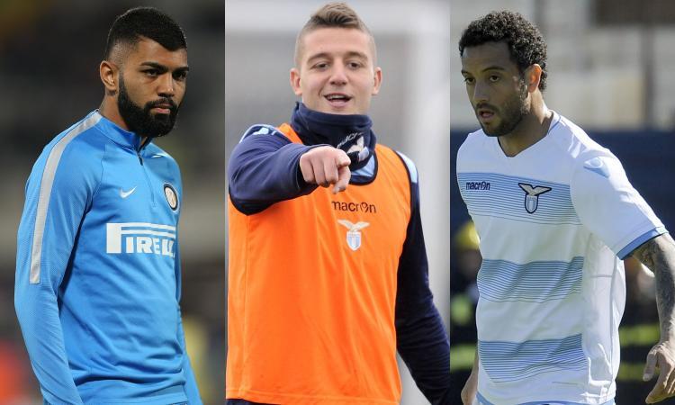 Inter, intrecci con la Lazio: da Gabigol a Milinkovic-Savic e Felipe Anderson
