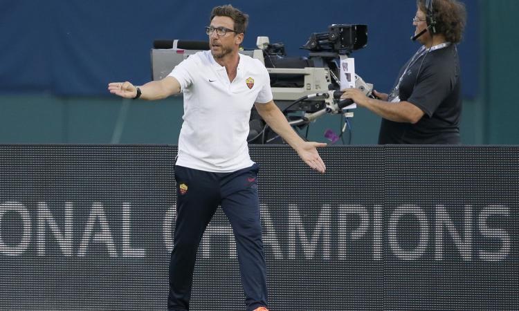 Roma, Di Francesco: 'Girone duro, Chelsea e Atletico fortissime'