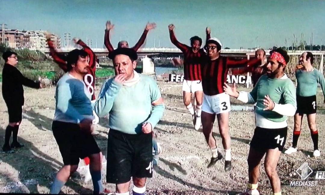 """Caro vecchio Milan... magari """"vadi"""" un po' più a destra!!"""