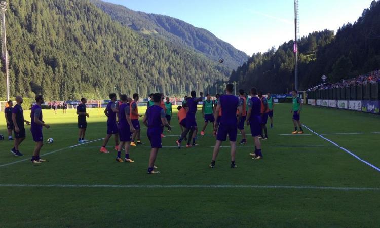 Allenamento Fiorentina personalizzata
