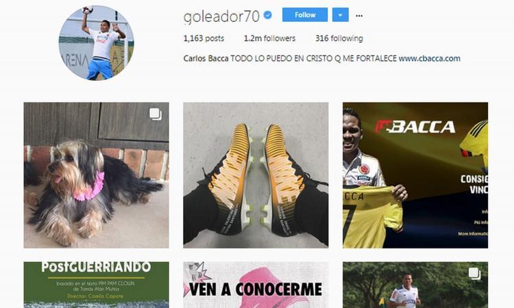 Bacca, segnale al Milan: rimosse da Instagram tutte le foto in rossonero