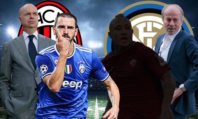 Spendere tanto per guadagnare tanto: Milan-Bonucci insegna, Inter che fai?