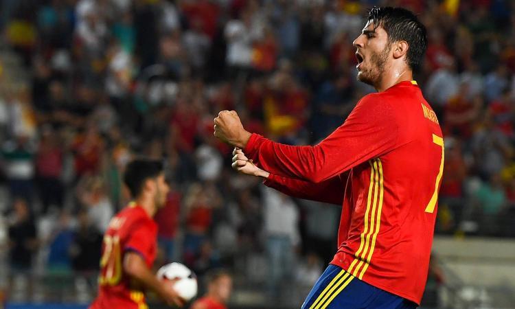 Morata: 'Un sogno fare gol a Buffon'
