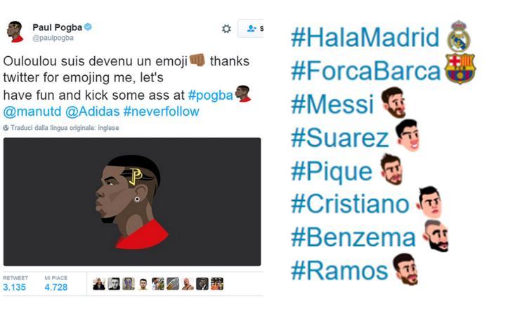 #WorldEmojiDay: da Pogba a Messi, Neymar e Cristiano Ronaldo: anche il calcio ha le sue icone social VIDEO