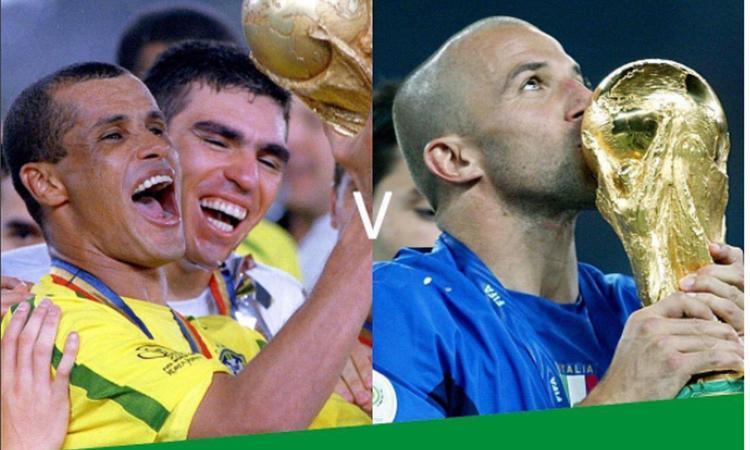 Star Sixes, riecco le vecchie glorie: Del Piero, Rivaldo, Gerrard, Ballack, tutti in campo. Ed è subito Italia-Brasile VIDEO