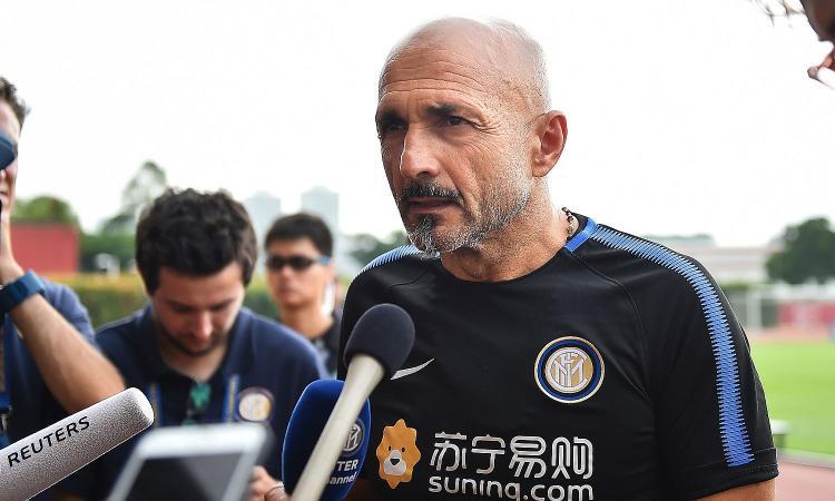 Spalletti: 'Buona Inter. Dalbert voleva strafare, in difesa siamo pochi. Kondogbia ha pretese assurde, Perisic vuole restare'