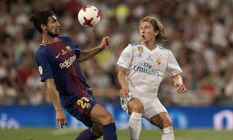Real Madrid, Modric miglior centrocampista dell'ultima Champions League