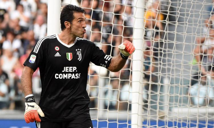 Juve, Buffon miglior portiere dell'ultima Champions