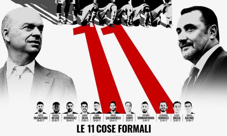 Fassone e Mirabelli: 'Aubameyang voleva il Milan. Suso? Resterà a lungo'