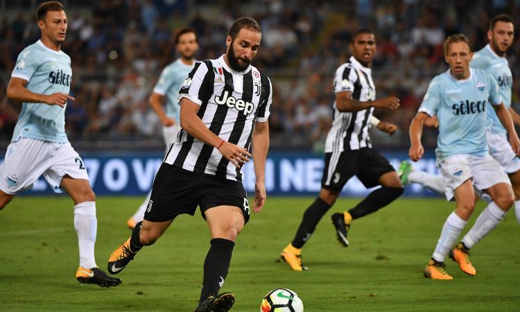 Juve, Higuain al Colosseo dopo la sconfitta in Supercoppa FOTO