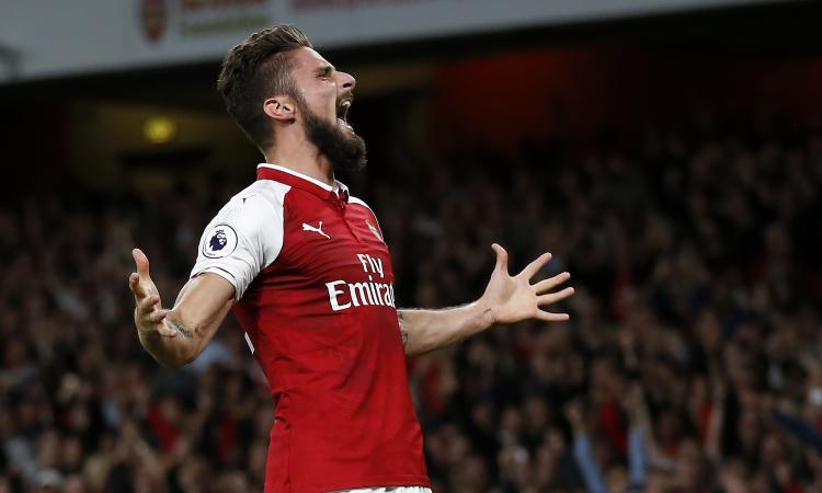 Arsenal: anche la Juve su Giroud