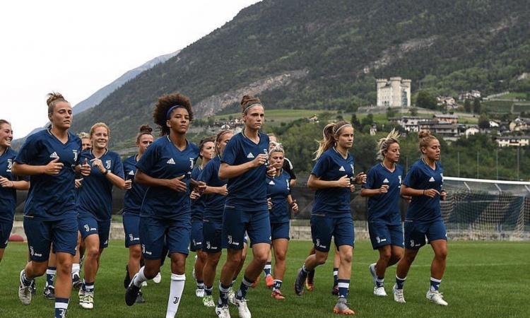 Juve, le Women inaugurano il nuovo campo alla Continassa FOTO
