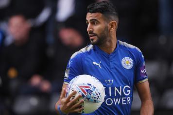 Mahrez Leicester pallone