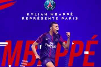 Mbappe PSG ufficiale