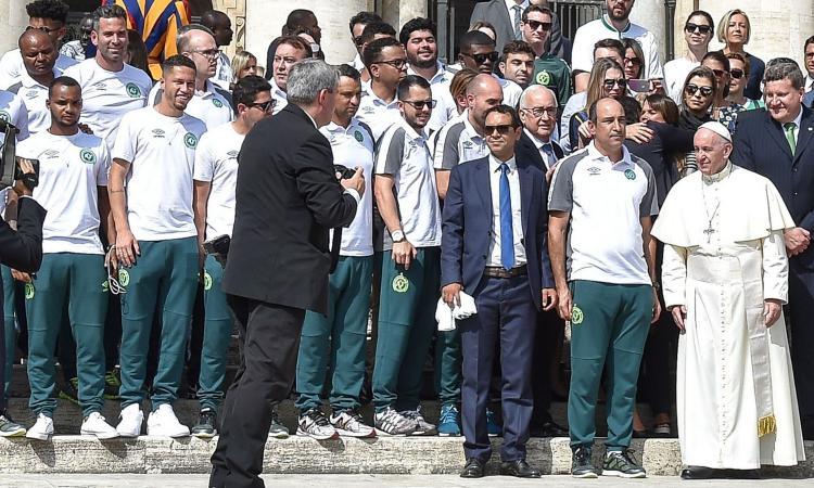Amichevoli: Florenzi apre il poker della Roma con la Chapecoense, debutta Schick