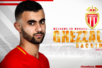 Rachid Ghezzal Monaco ufficiale