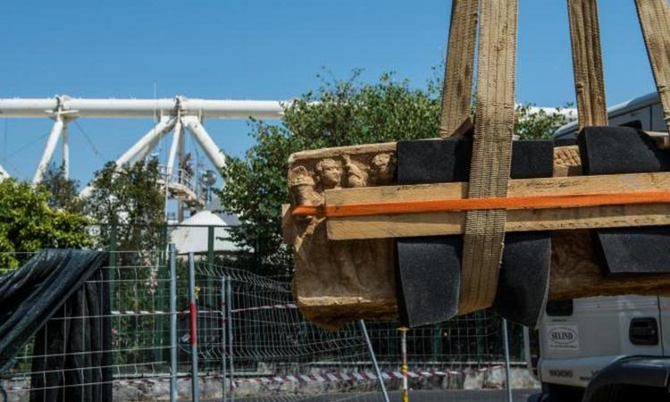 Archeologia in curva: antichi sarcofagi ritrovati allo stadio Olimpico