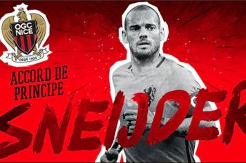 Sneijder Nizza Twitter
