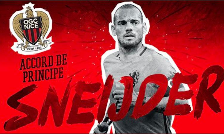 Nizza, UFFICIALE: Sneijder ha firmato, presa la numero 10