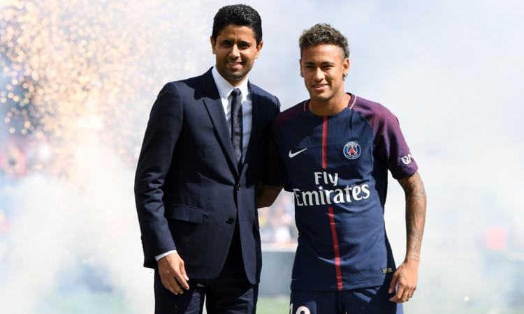 Al Khelaifi attacca: 'Il Real non tratti con Neymar! Fair Play Uefa? Ci sono club disonesti, Tebas pensi alla sua Liga'