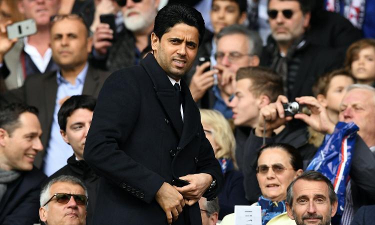 PSG, Al Khelaifi: 'De Laurentiis simpatico. Sorpreso da CR7 alla Juve, Buffon...'
