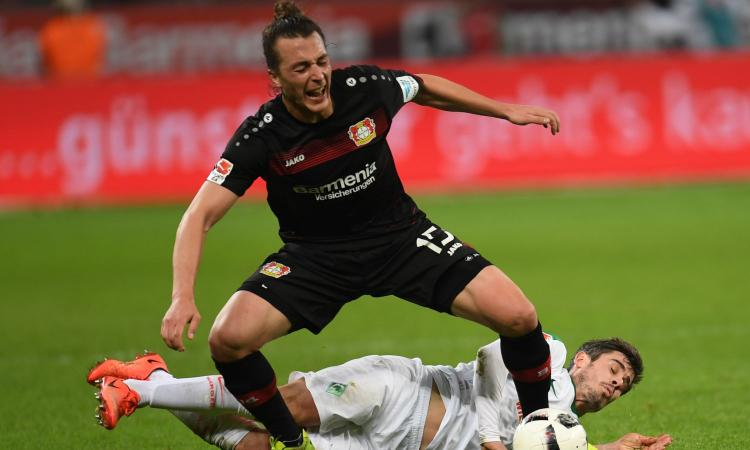 Bayer Leverkusen, UFFICIALE: rinnova un centrocampista