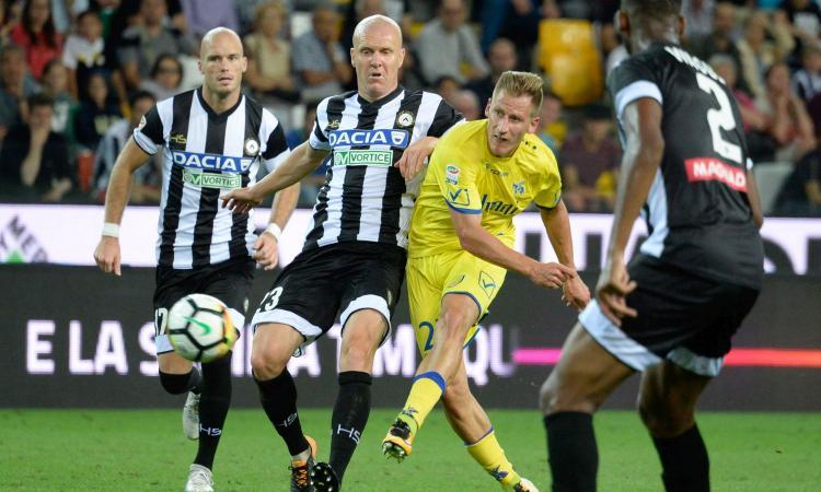 Udinese-Chievo 1-2: GOL & HIGHLIGHTS
