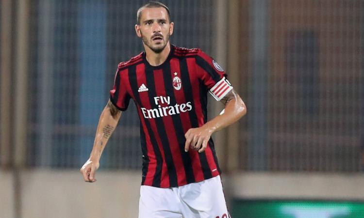 Milan, nessun ricorso per la squalifica di Bonucci