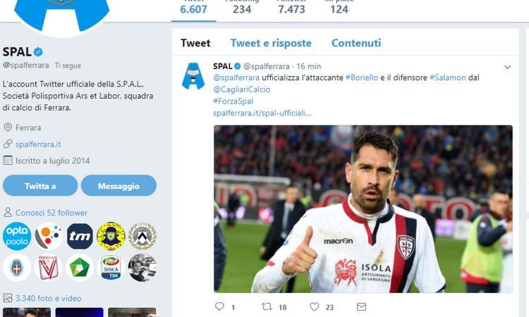 Spal, Borriello si presenta: 'Farò più di 10 gol'