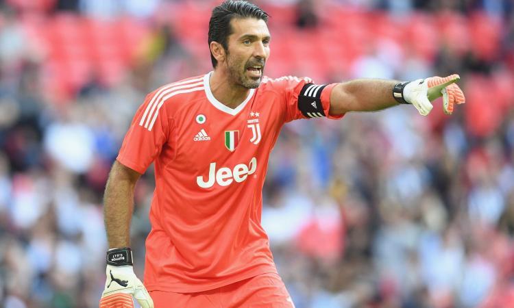 Juve, Buffon: 'Spinazzola vuole tornare? Perché vuole giocare con me l'ultimo anno'