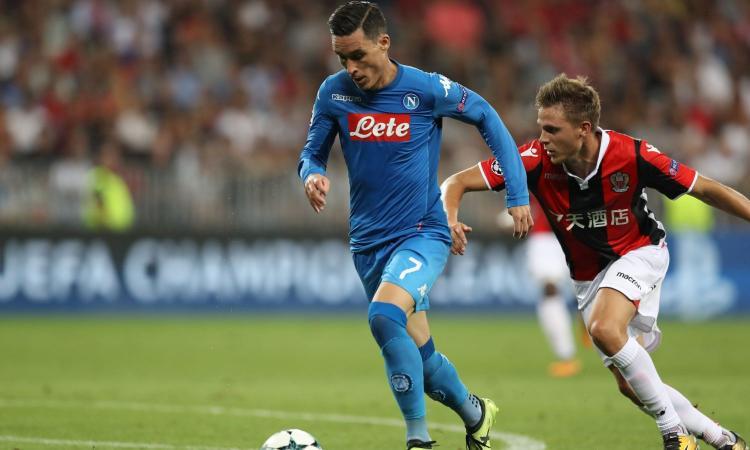 Napoli, Callejon: 'Meritiamo la Champions League'