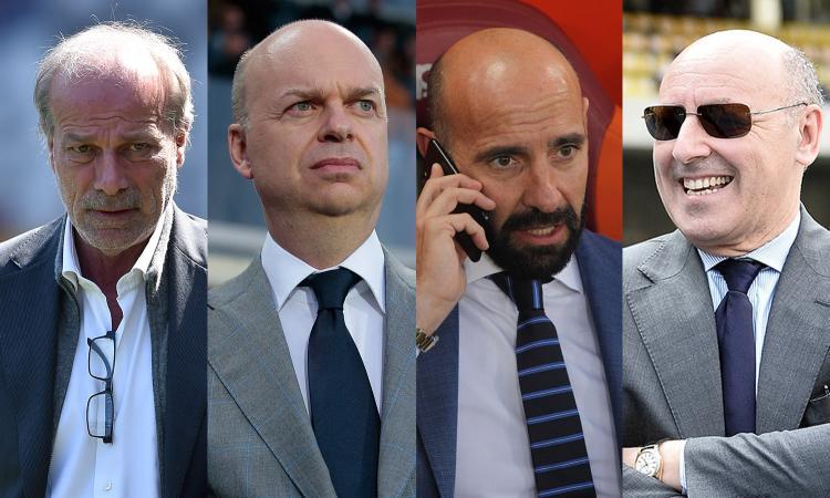 Mercato -20: il portiere del Napoli, la punta del Milan, Juve, Inter e Roma... Cosa manca squadra per squadra