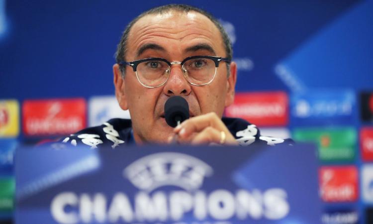 Napoli, Sarri: 'Mertens c'è, niente calcoli a Nizza. Balotelli e Sneijder...' VIDEO