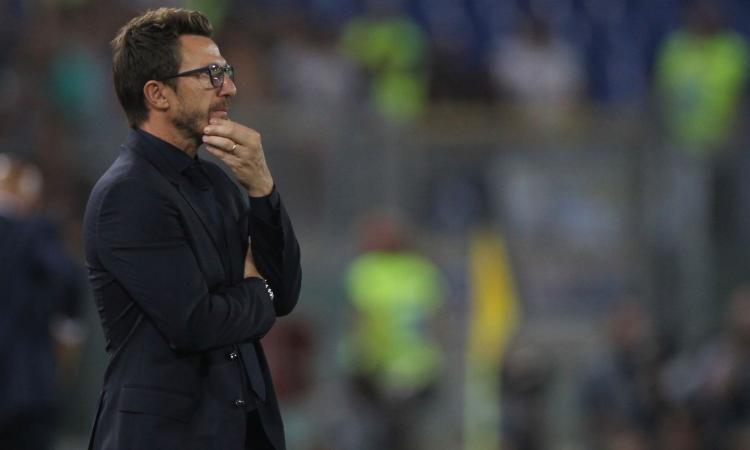 Di Francesco: 'Spero di avere Schick per il Napoli, ma abbiamo già forzato altre volte e lui non ci ha detto tutto...'