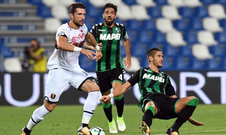 Sassuolo-Genoa 0-0: GLI HIGHLIGHTS