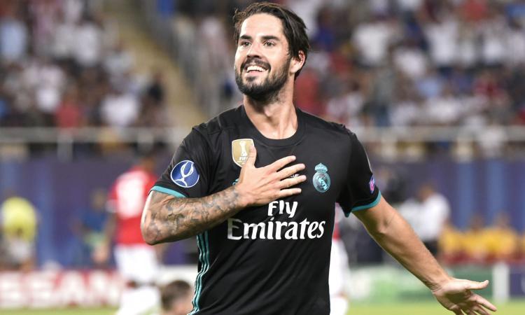 Real Madrid, tre offerte per Isco: c'è anche la Juve
