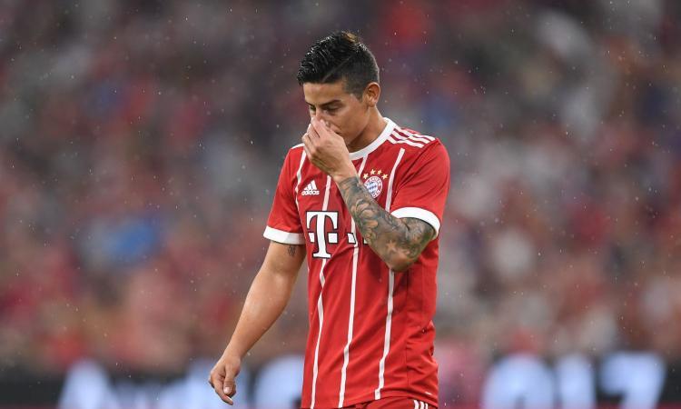 Bayern Monaco: James Rodriguez vuole tornare al Real Madrid