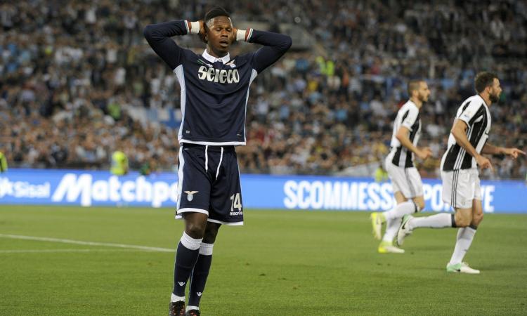 Juve-Lazio, non convocato Keita: 'Amareggiato, disagio psicologico'