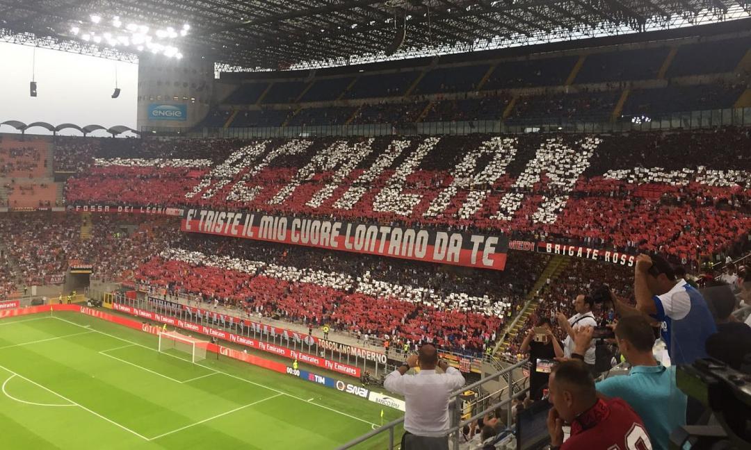 Invito ai tifosi rossoneri:  tutti allo stadio!