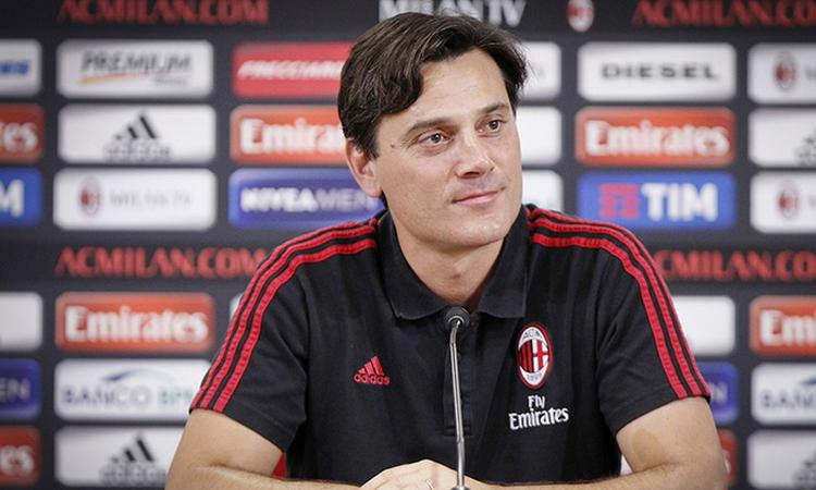 Milan, 10 giocatori a disposizione di Montella