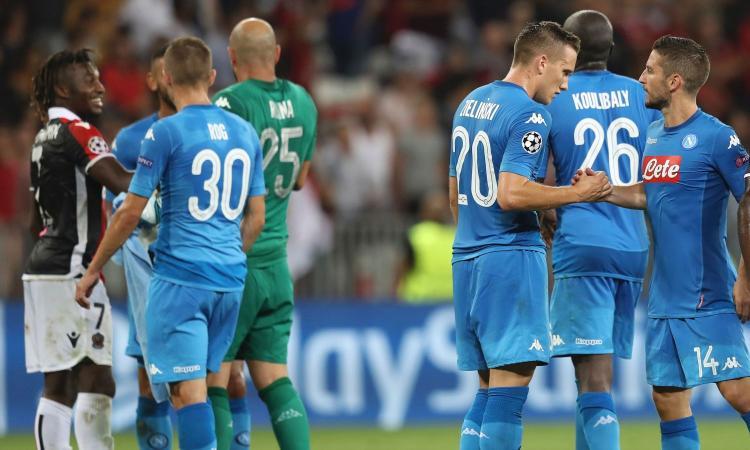 Napoli, secondo anno consecutivo in Champions: è record