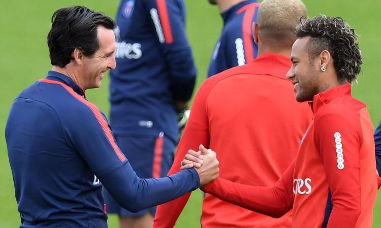 PSG, Emery: 'Vinceremo di sicuro con Neymar e Verratti' VIDEO