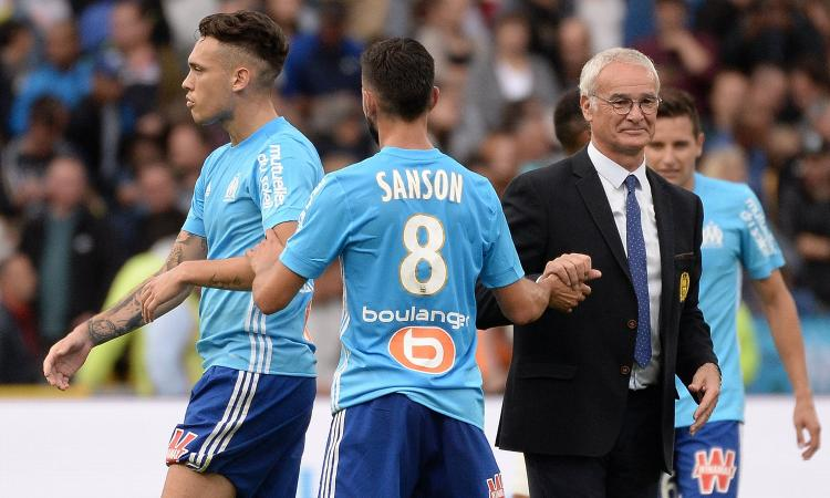 Ligue 1: Ocampos entra e decide la sfida tra Garcia e Ranieri, che finisce i cambi al 25' per tre infortuni VIDEO