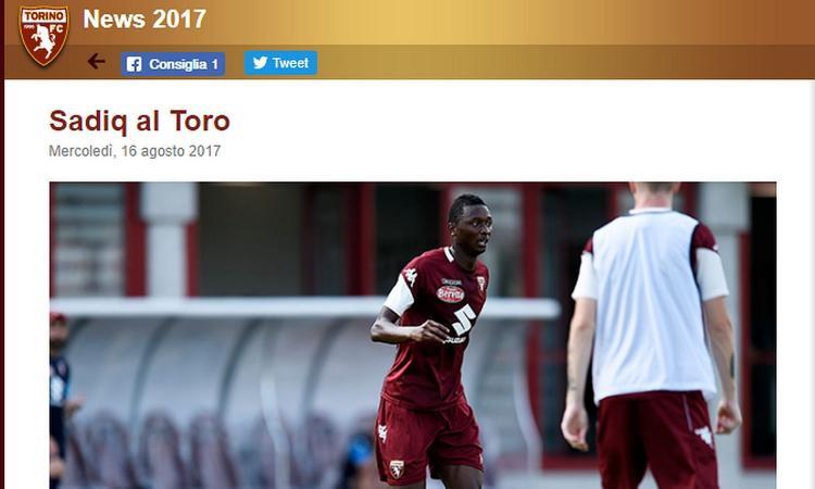 Torino, ultimo esame per Sadiq: vietato sbagliare