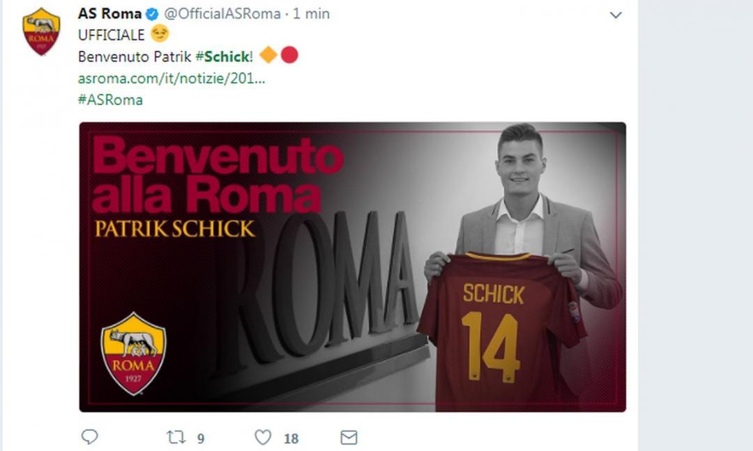 Roma, adesso cosa fai con Schick?