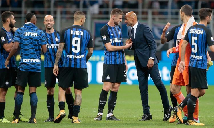 Spalletti il miglior allenatore della Serie A, con lui l'Inter è da scudetto