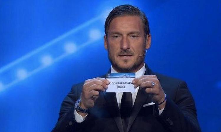 Roma, il tweet di Totti: 'Tra le migliori otto d'Europa'