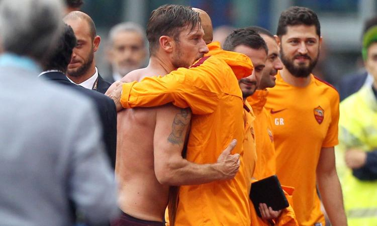 Roma, Totti infiamma la sfida con l'Inter: 'Non abbraccio Spalletti'