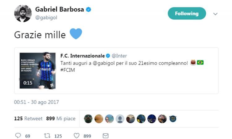 Inter: auguri a Gabigol, può regalare Lisandro Lopez. Mancini su Ranocchia