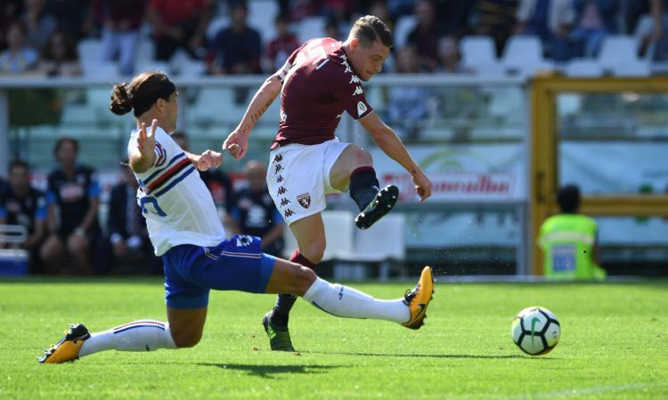 Torino-Sampdoria 2-2: il tabellino VIDEO